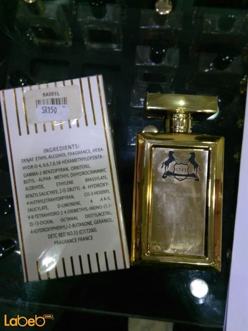 La Via est belle 1743 perfume for women 100ml Gold color French
