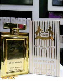 La Via est belle 1743 perfume - for women - 100ml - Gold - French
