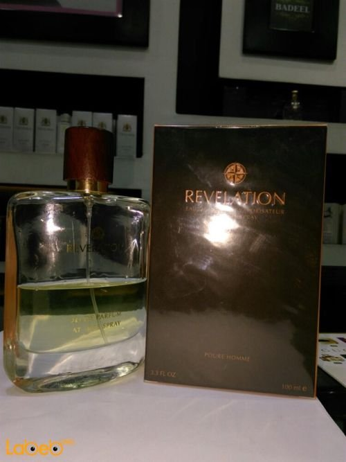 Revelation perfume Suitable for men 100 ml transparent