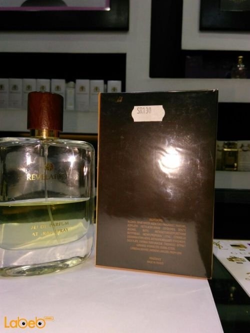 Revelation perfume Suitable for men 100ml capacity transparent