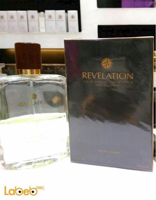 عطر Revelation للرجال 100 مل منتج فرنسي لون شفاف