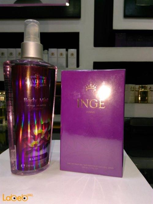 INGE perfume 100ml Majestic Body mist 250ml