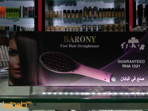 Barony Fast hair straightener Pink 55Watt 230C° RHA 1521 model