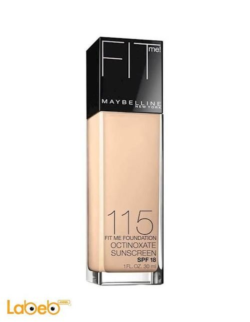 FITme Maybelline New York cream women 30ml 115 Ivory