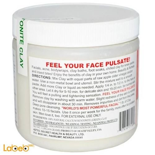 Aztec Secret Indian Healing Clay for Deep Pore Cleansing