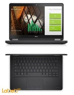 Dell latitude E5250 Laptop - core i5 - 8GB - 12.5inch - Black