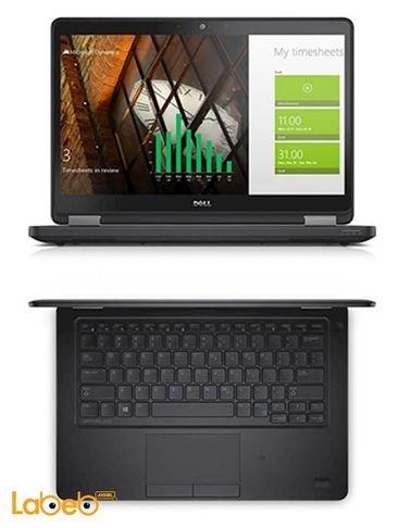 Dell latitude E5250 Laptop core i5 8GB 12.5inch Black