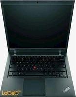 لابتوب لينوفو اي 5 رام 4 جيجابايت لون أسود ThinkPad T440P