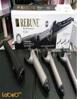 REBUNE soft curl RE_2035 model black color 3 pices