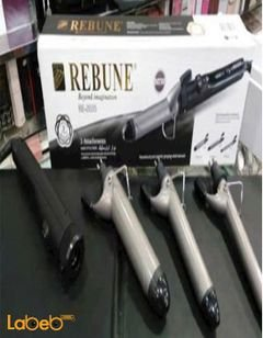 REBUNE soft curl - RE_2035 model - black color - 3 pices