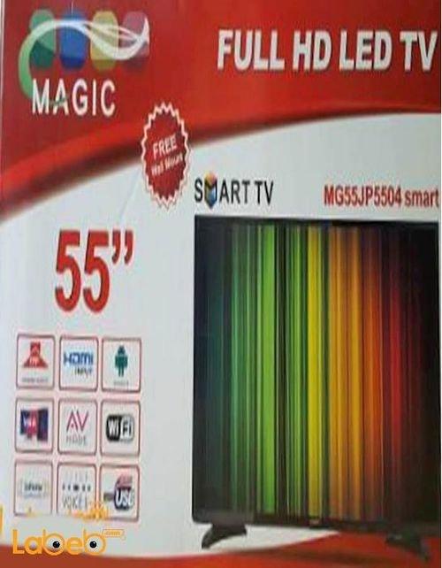 شاشة LED MAGIC حجم 55 انش فل اتش دي موديل GM55JP5504