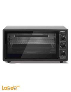 ODUL Turkish Electric Oven - 1400W - 42L - Black Colour - MIDI-INOX