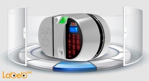 قفل باب إلكتروني ZKS Group لأبواب الزجاج 200 مستخدم MW1/GW1