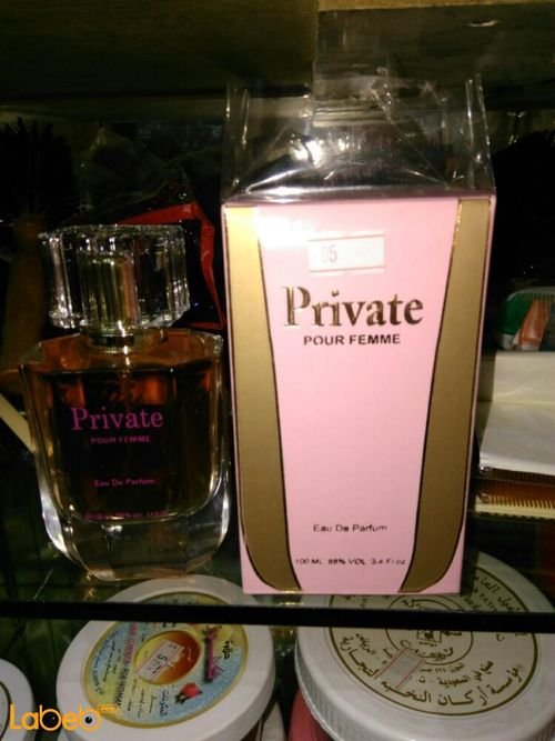 Private perfume suitable for women 100ml pink