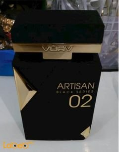 Aristan black series 02 perfume For men - French - 100 ml - Black