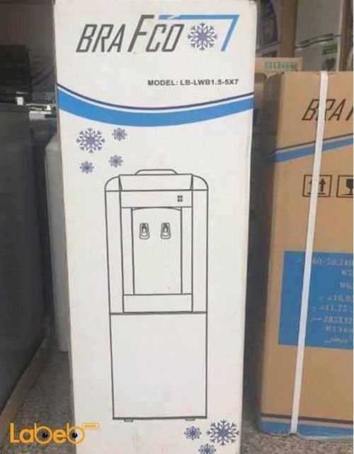 BRAFCO water cooler Cold Hot White color LB-LWB1.5-5X7 model