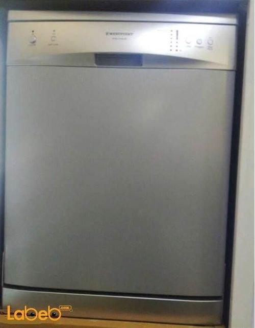 Westpoint Freestanding Dishwasher 12 P/S Silver WYM-1213S.E