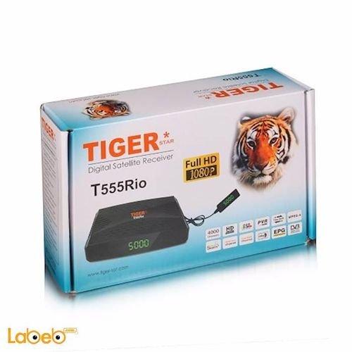 ريسيفر تايجر T555 Rio دقة فل HD منفذ يو اس بي 4000 قناة