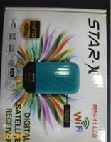 Star-x Mini-11 LED Receiver specifications USB 2.0 5000 channels 1080P