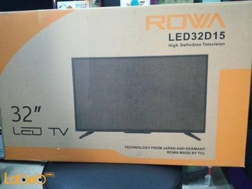 شاشة Rowa حجم 32 انش اتش دي موديل LED32D15