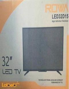 شاشة ال اي دي Rowa - حجم 32 انش - اتش دي - موديل LED32D15