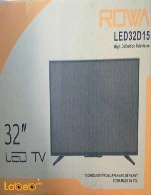 شاشة ال اي دي Rowa حجم 32 انش اتش دي موديل LED32D15