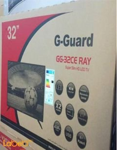 G-Guard LED TV - 32inch - HD TV - GG-32CE RAY model