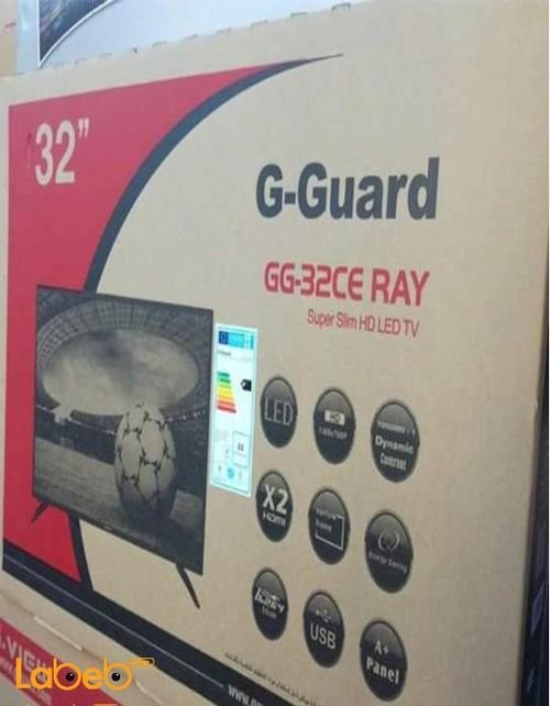 G-Guard LED TV 32inch HD TV GG-32CE RAY