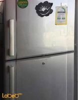 Crystal Refrigerator top freezer 220V Silver CR-15S model