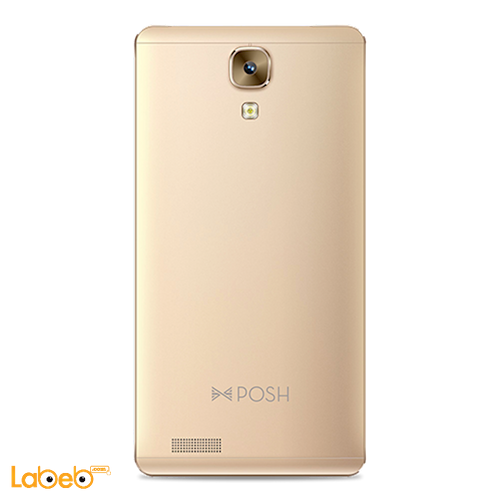 Posh Icon Pro HD X551 Smartphone back 16GB 5.5inch Gold color
