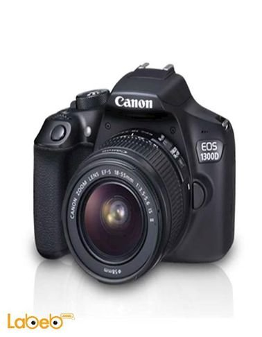 Canon EOS-1300D - 18-55MM Zoom Lens DSLR Camera - 18Mp
