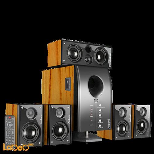Audionic 5.1 Channel Speaker 2500Watt Black Pace 3 Ultra
