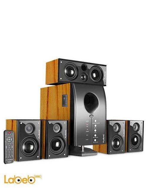 Audionic 5.1 Channel Speaker 2500Watt Black color Pace 3 Ultra