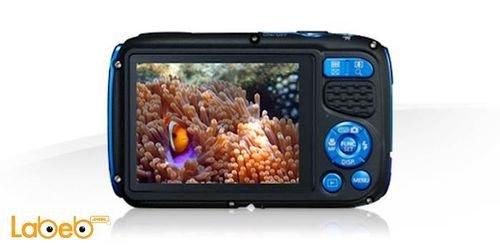 آلة تصوير كانون رقمية مقاومة للماء لون أزرق موديل PowerShot D30