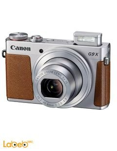 Canon PowerShot G9X - 20.2MP Digital Camera - Zoom x3 - Silver
