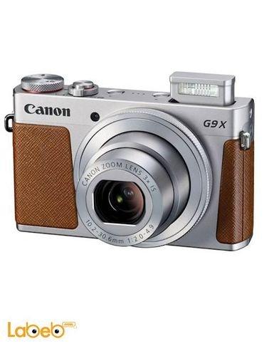 Canon PowerShot G9X - 20.2MP Digital Camera - Zoom x3 - Silver
