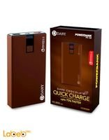 Dany Power Bank 10000mAh 2xUSB ports Chocolate PB-108