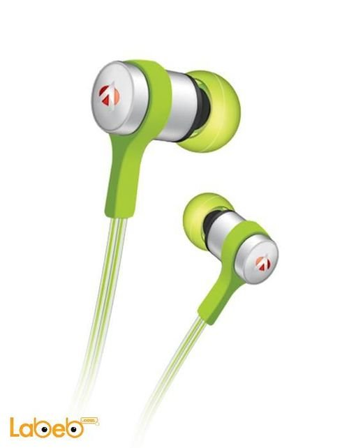 Audionic Loop Earphones 1.2m Cable Green Earphone Loop-LT-113