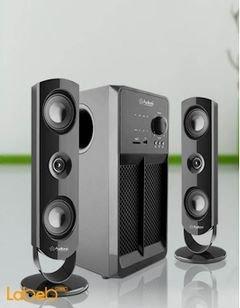 مكبر صوت وسماعات 2.1 قناة Audionic - قدرة 60واط*2 - أسود - BT-850
