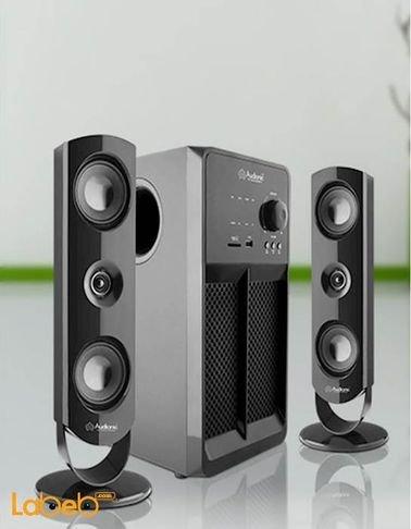 مكبر صوت وسماعات Audionic قدرة 60 واط*2 أسود BT-850