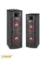 Audionic 2.0 Channel Speaker DJ Series 130Wx2 Black DJ-1500