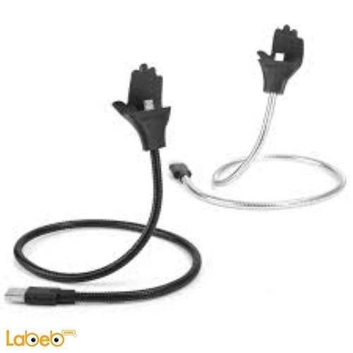 كابل ميكرو TOPTECH مناسب لأجهزة الأبل 50 سم موديل CABLE DATA