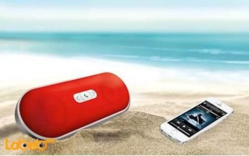 AUDIONIC Bluetooth speaker with microphone BT-230 RED model