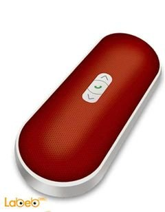 AUDIONIC Bluetooth speaker - with microphone - Red - BT-230 RED model