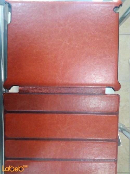 غطاء مناسب لجهاز ايباد 3 لون بني حجم 9.7 انش