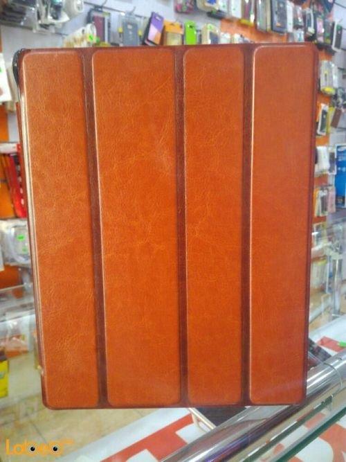 غطاء مناسب لايباد 3 لون بني حجم 9.7 انش