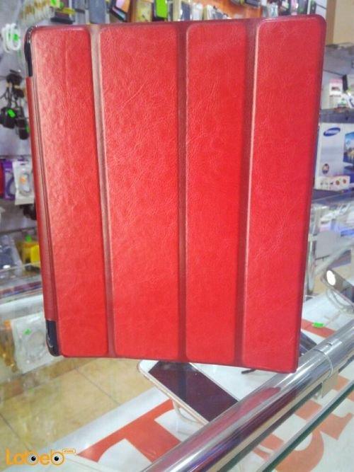 غطاء لجهاز ايباد 4 لون أحمر حجم 9.7 انش