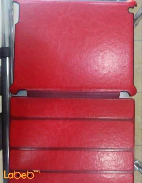 غطاء مناسب لجهاز ايباد 4 لون أحمر حجم 9.7 انش