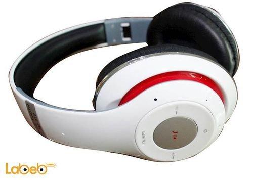 سماعة راس لاسلكية Beats بلوتوث 2.1 أبيض TM-010