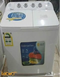 Dansat Twin Tup washing machine - 10kg - White - DW5W model
